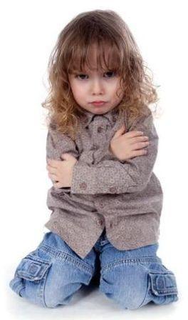 ребенок обидчивый